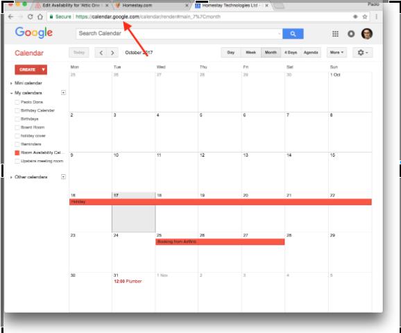 Sincronizzare Calendario.Sincronizzazione Calendario Con Google Calendar Homestay