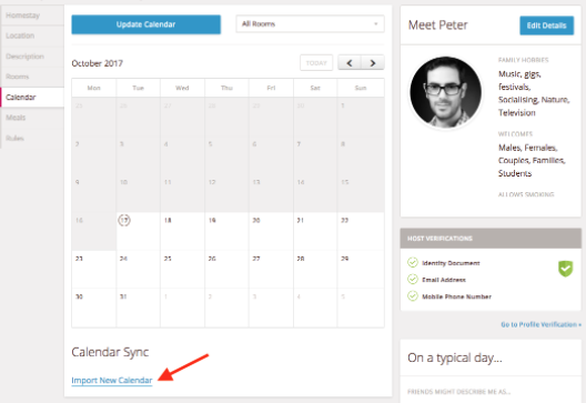 Airbnb Calendario.How To Synchronise My Homestay Calendar With The Airbnb