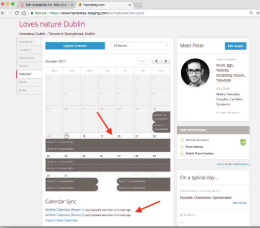 Sincronizzare Calendario Booking Con Airbnb.Sincronizzazione Calendario Con Airbnb Italian