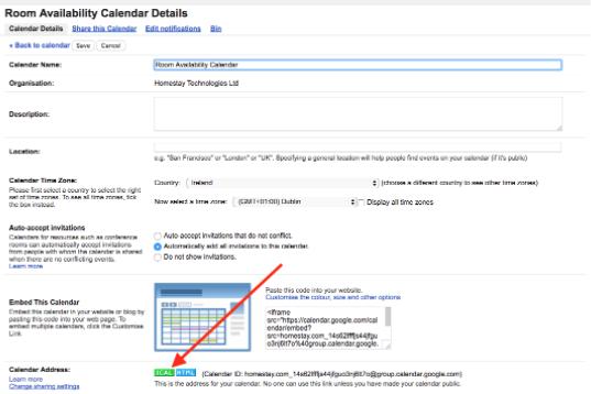 Sincronizzare Calendario Booking Con Airbnb.Sincronizzazione Calendario Con Google Calendar Homestay