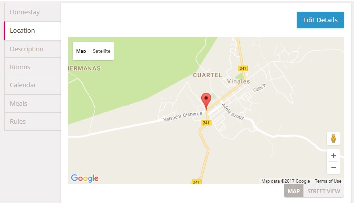 How Do I Edit My Location Homestaycom Help - Satellite map of my location